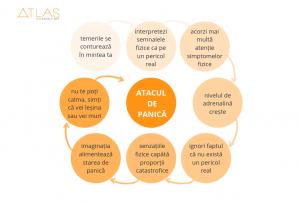 Infografic - ce s eintampla in organismul uman in timpul unui atac de panica?