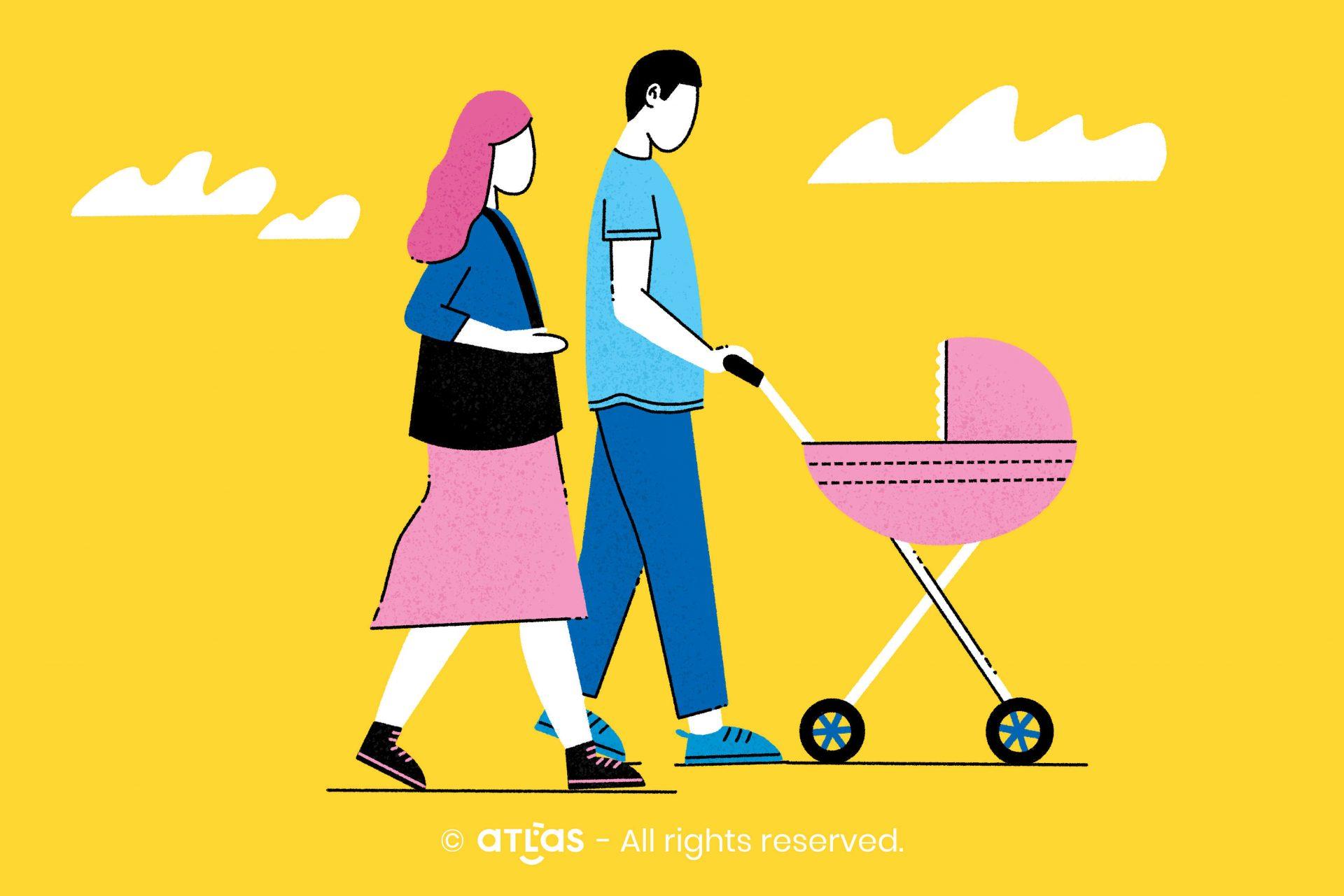 Cum se modifică relația de cuplu după apariția copilului